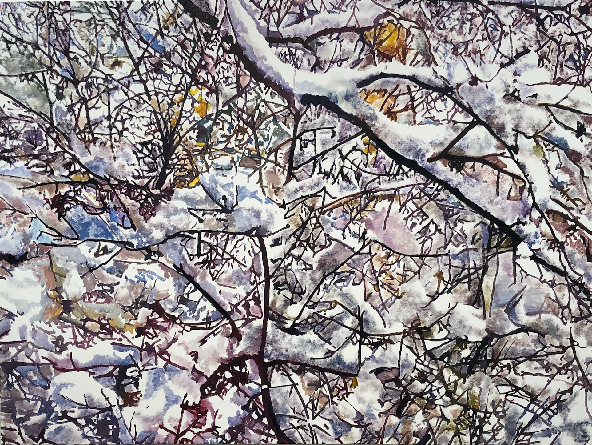 Kesler Woodward: Birch Trees