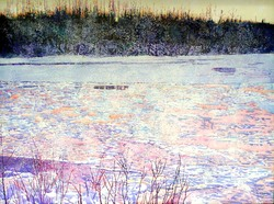 Snowfall_at_twilight_chena_river_breakup