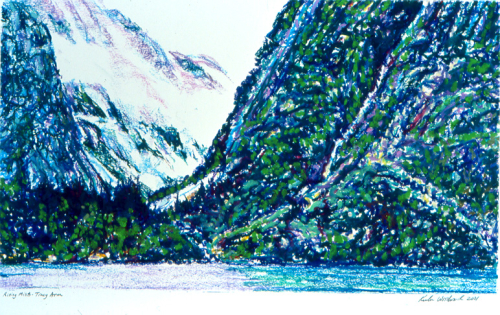 Rising Mists - Tracy Arm